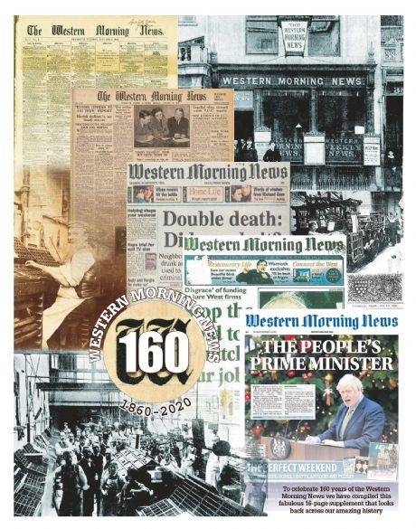 WESTERN MORNING NEWS - 160 YEARS